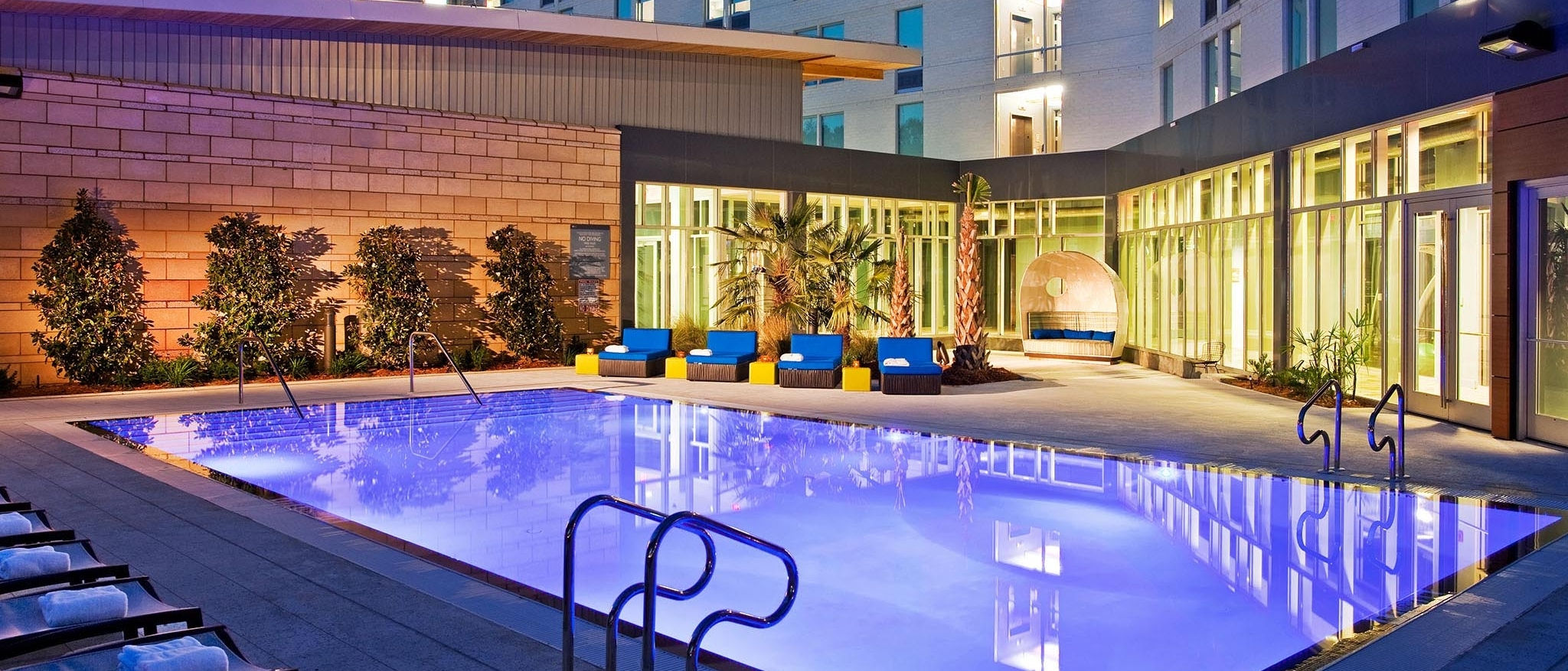 Aloft Jacksonville Tapestry Park - Splash Pool
